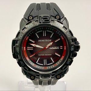 New Pro Sport Armitron Watch Black & Red
